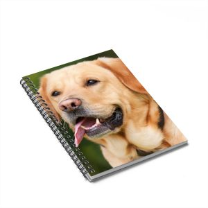 Dog Spiral Notebook – Ruled Line