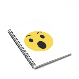 Wow Emojy Spiral Notebook – Ruled Line