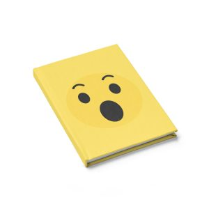 Wow Emojy Yellow Journal – Ruled Line