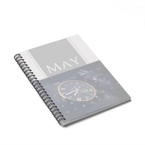 May Calendar Spiral Notebook