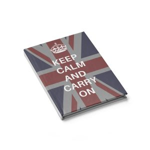 Keep Calm and Carry on Journal – Blank