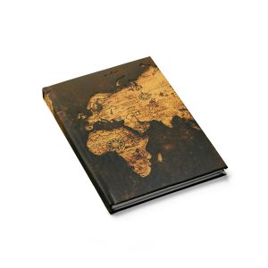 Vintage World Map Journal – Blank