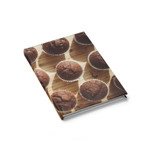 Chocolate Muffins Journal – Ruled Line